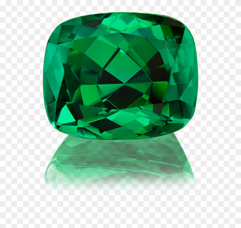 Tsavorite With Its Color Reminding Of Emerald As Well - Emerald Clipart #3633185