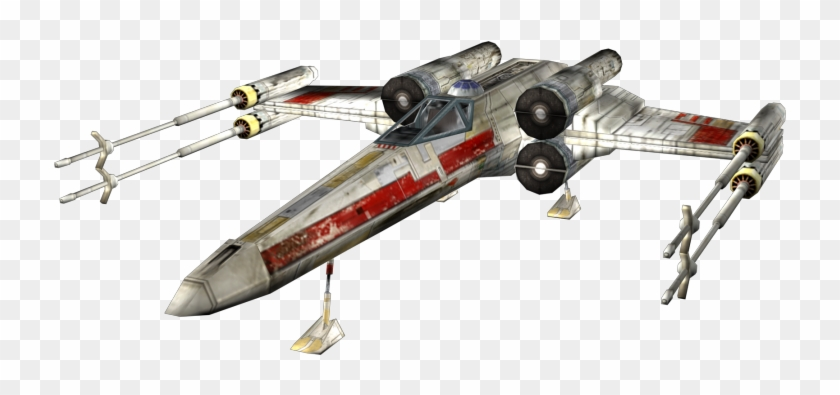 X Wing Png Transparent Background Battlefront X Wing Model Clipart 3635072 Pikpng