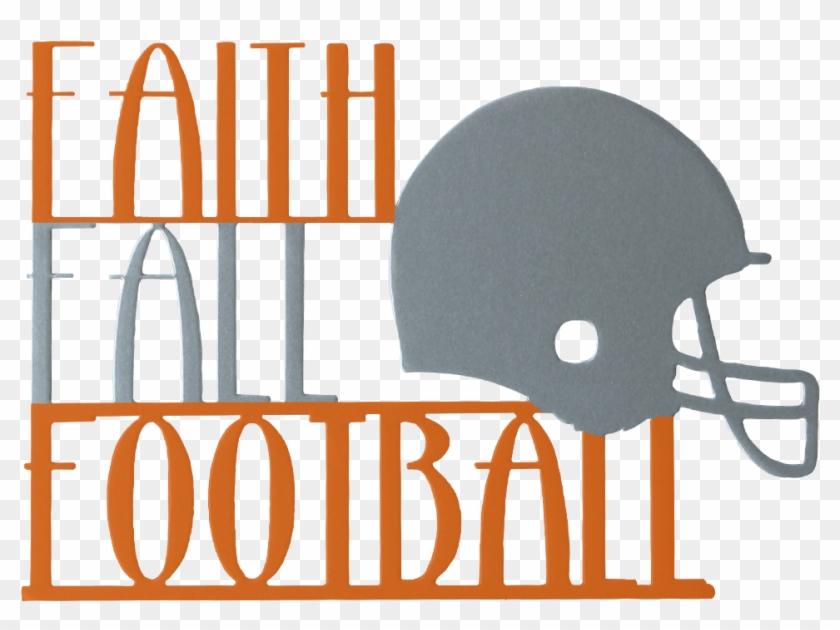 Faith Fall And Football Football Wreath Fall Wreath Clipart #3635768