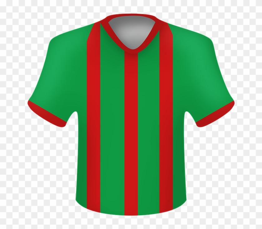 Football Jersey T Shirt Shirt Polo - Sports Jersey Clipart #3638508