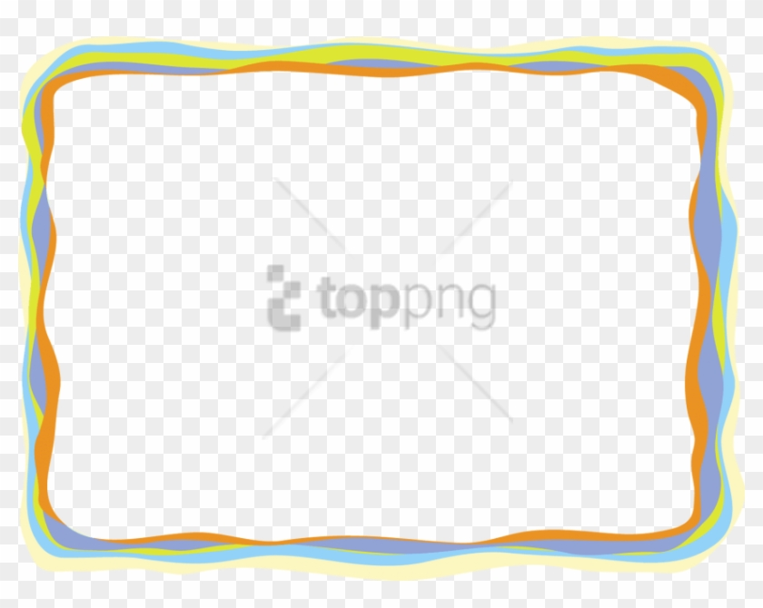 Free Png Colorful Frames And Borders Png Png Image - Road To Reading Clipart #3640521