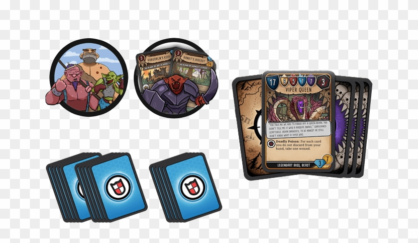 Hero Master An Epic Game Of Epic Fails Mega Bundle - Collectible Card Game Clipart #3645857
