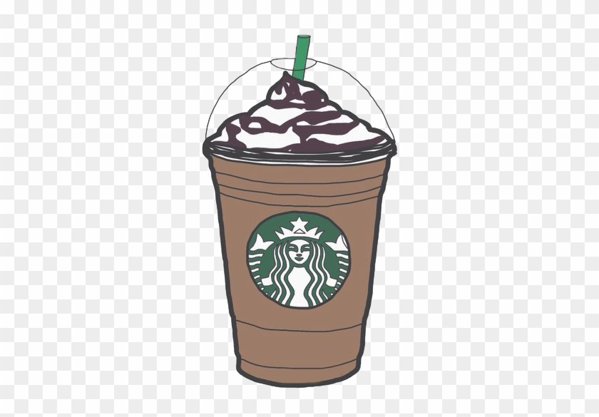 Latte Clipart Iced Coffee Cup Starbucks Png Transparent