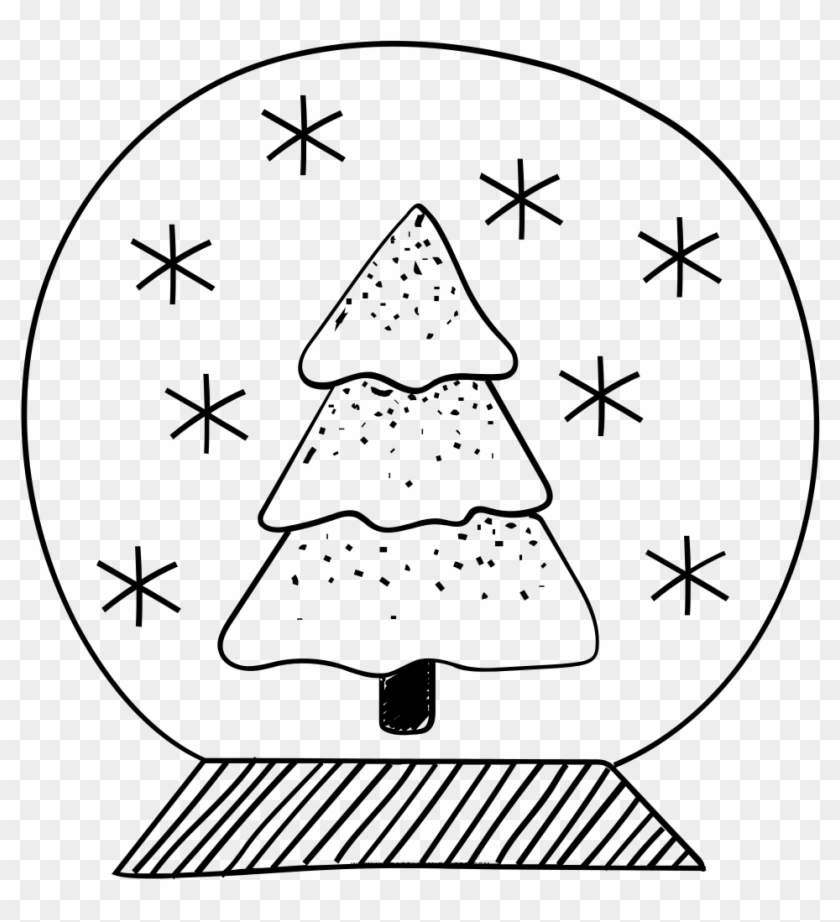Snow Globe Coloring Page Ultra Pages Inside Coloriage Oliver Et Compagnie Clipart 3662454 Pikpng