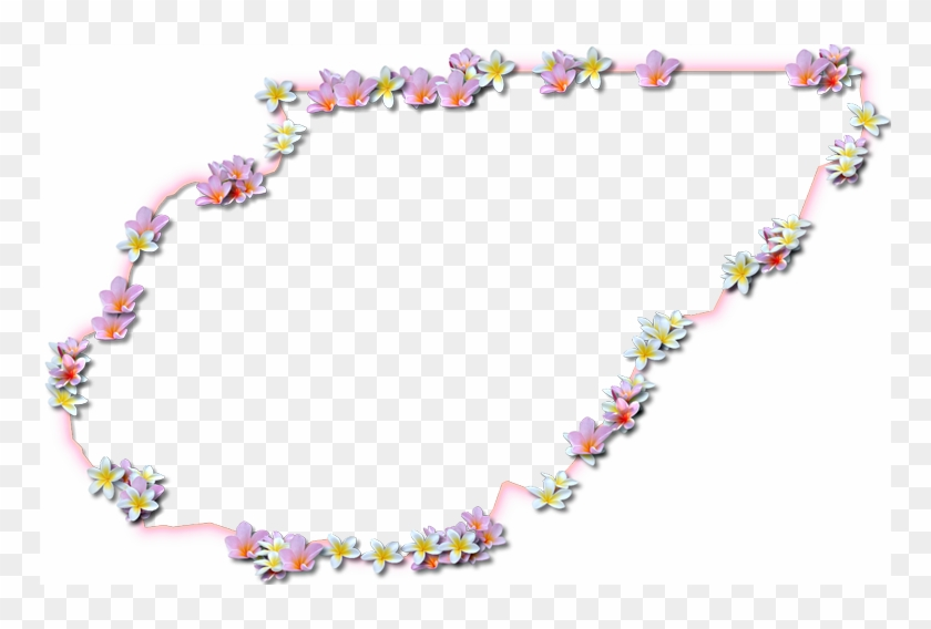 A Map Of Union With A Coral Color Glow Border And Pink - Floral Design Clipart #3665636
