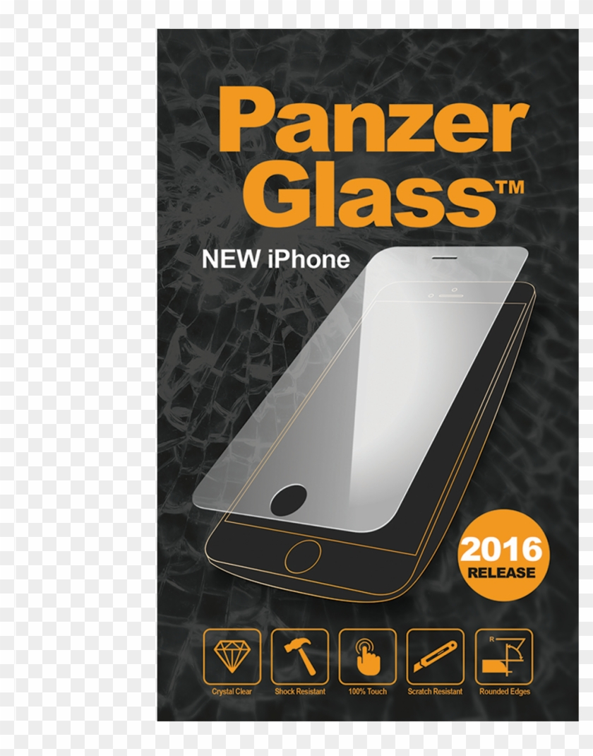 Panzerglass Screen Protector 3d For Iphone 7 - 3d Panzer Glass Clipart #3666333