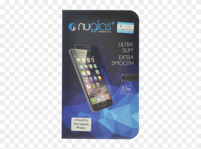 Nuglas Iphone 7 Plus/8 Plus Tempered Glass Privacy - Nuglass Clipart #3666459