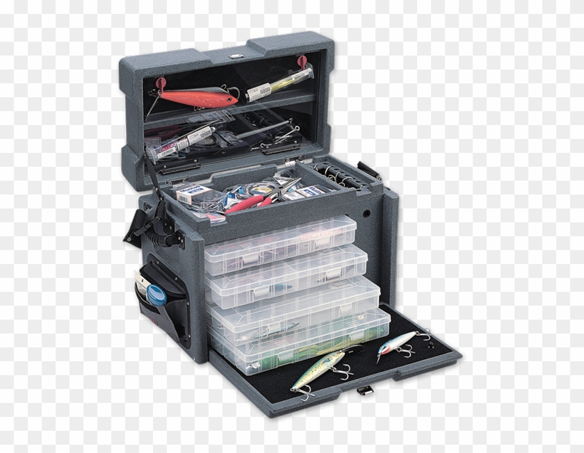 Download Fishing Tackle Boxes Clipart 3667385 Pikpng
