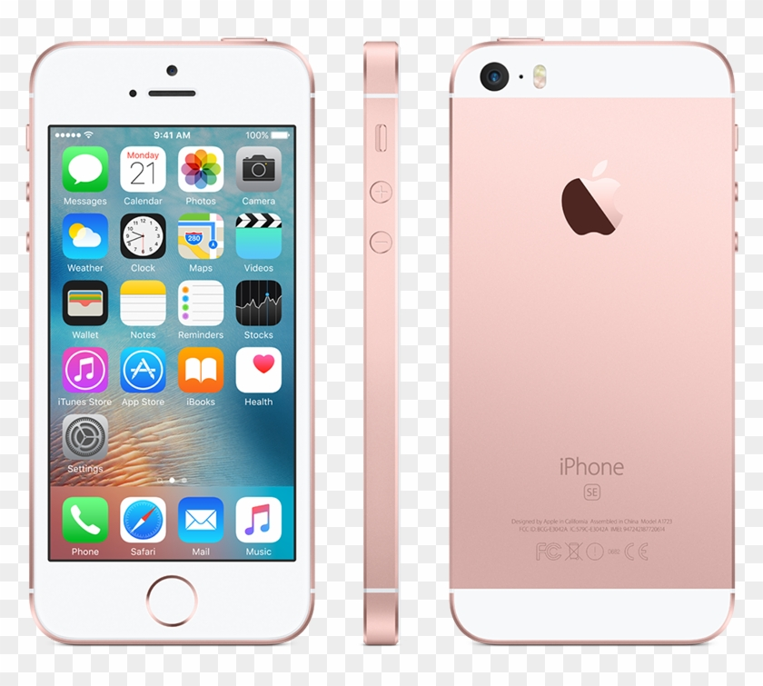 #iphonese #rosegold - Iphone 5c Rose Gold Clipart #3673292