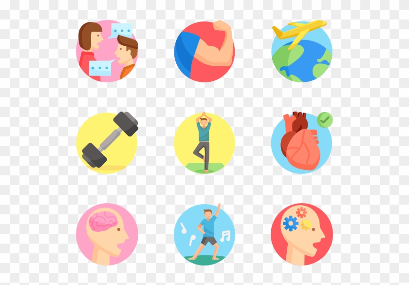 Active Lifestyle - Free Vector Round Avatar Clipart #3677400