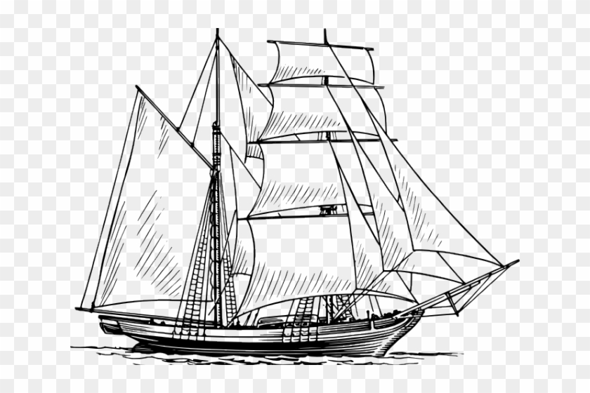 Old Ship Clip Art - Png Download #3678436