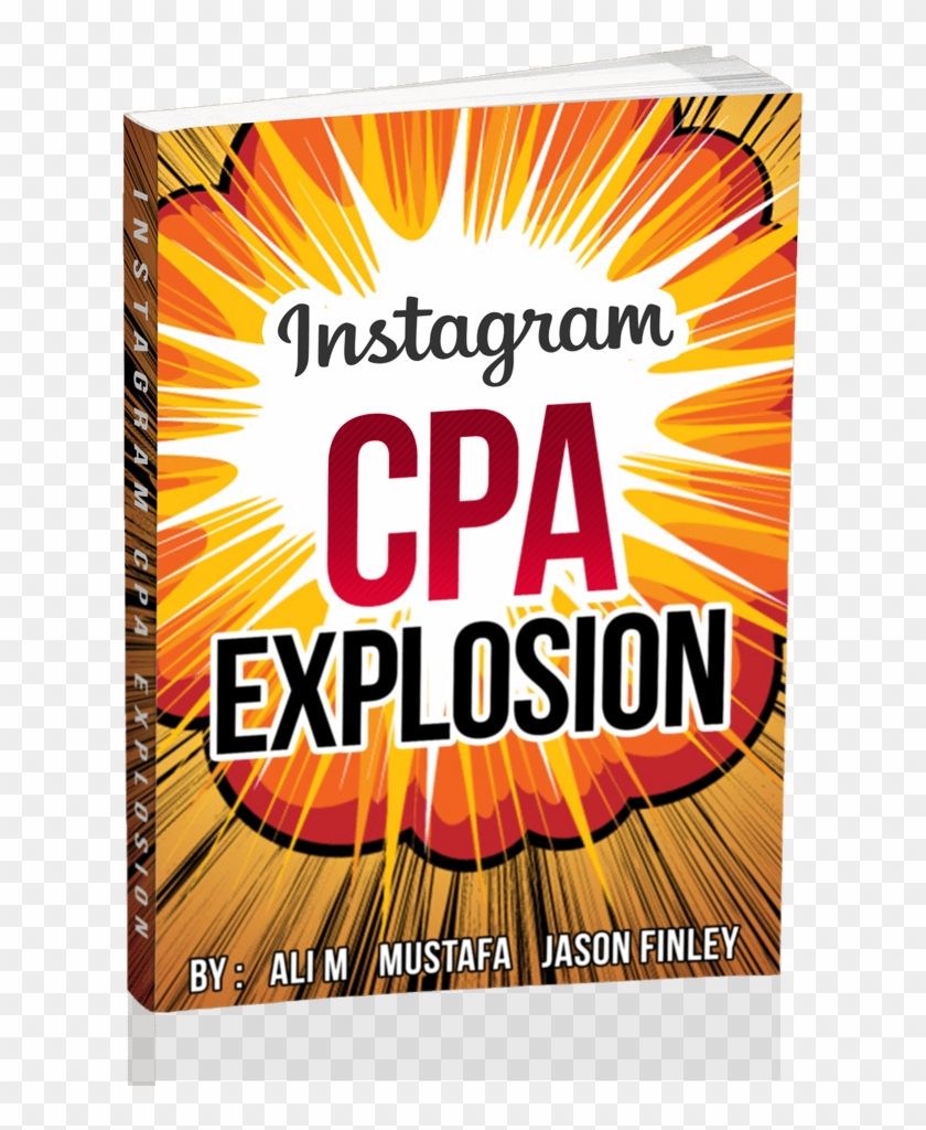 Instagram Cpa Explosion Review - Instagram Clipart #3678476