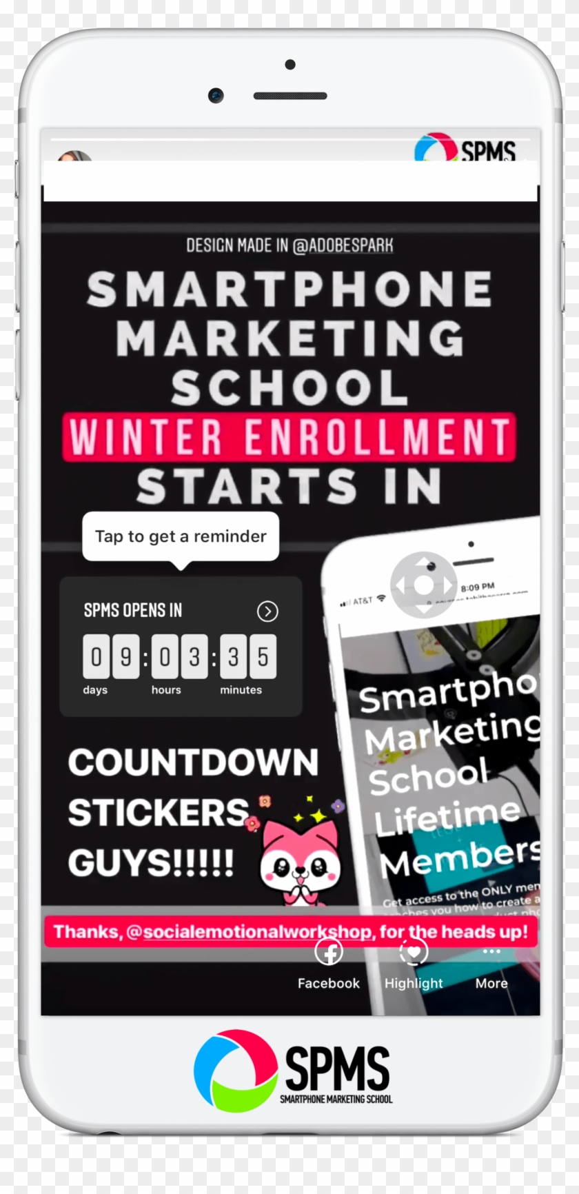 Market Your Launch With The Instagram Stories Countdown - Instagram Stories Countdown Gif Clipart #3681030