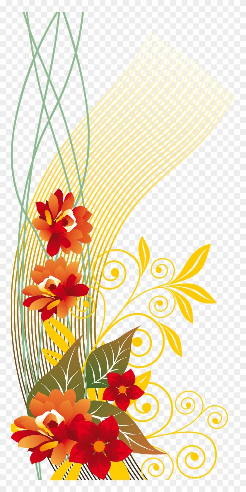 Desenho De Flores Em Png Com Fundo Transparente Business Cards