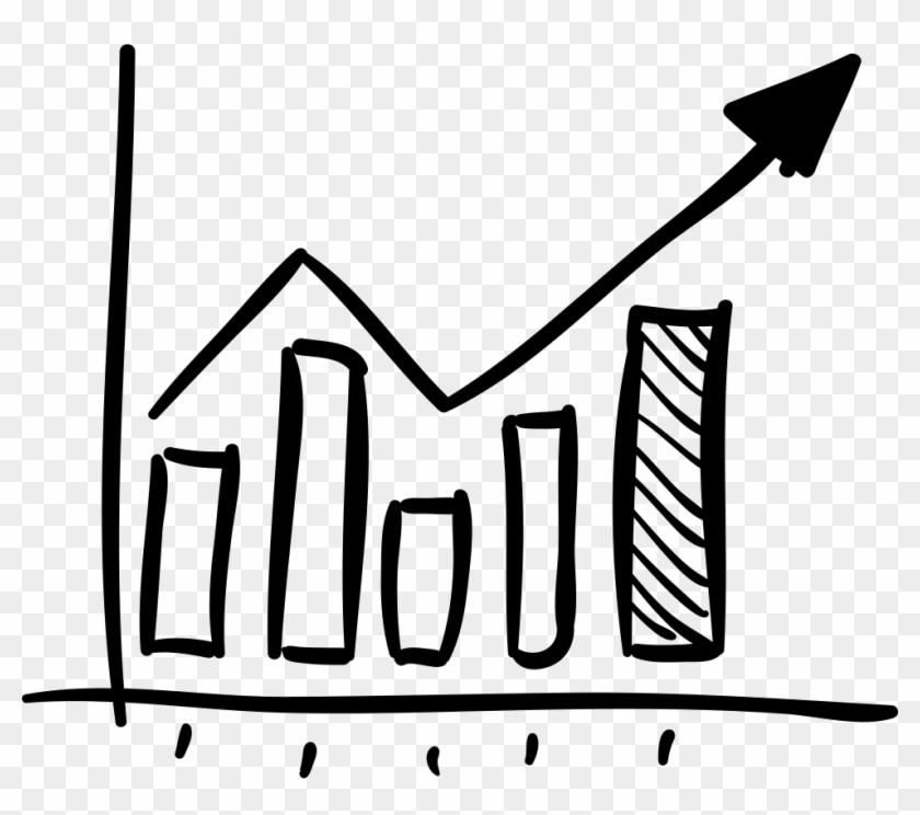Business Statistics Png Icon - Hand Drawn Graph Icon Clipart #3684650