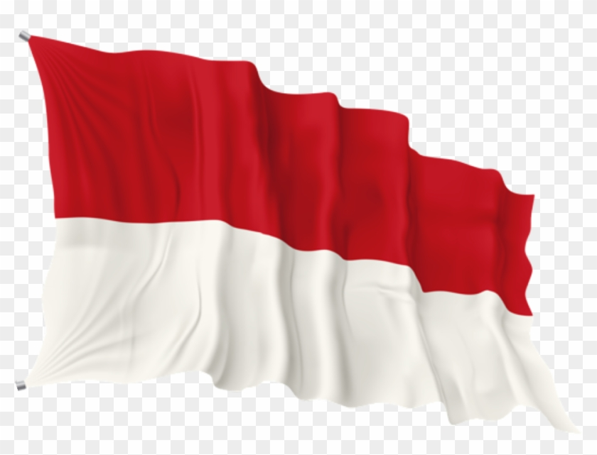 #bendera Indonesia #merah Putih - Flag Clipart #3697298