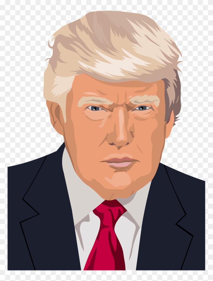 Top 25 Silliest Donald Trump Quotes - Donald Trump Clipart - Png Download #371454