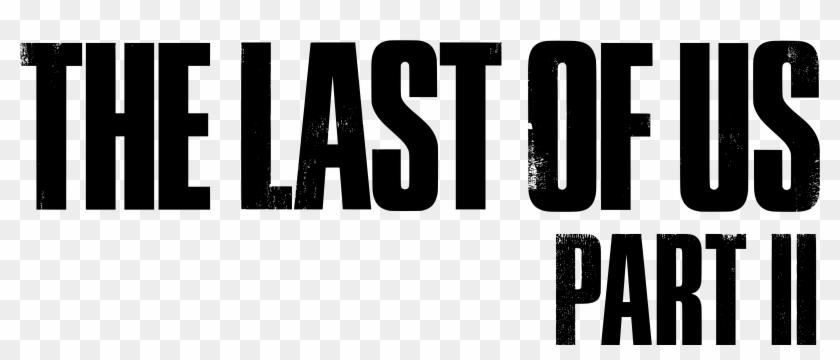 File Logo The Last Of Us Part Ii Schwarz Svg Wikimedia - Last Of Us 2 Logo Clipart #371569