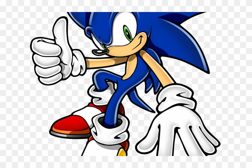 Sonic The Hedgehog Clipart Transparent Sonic The Hedgehog Png Download 373676 Pikpng