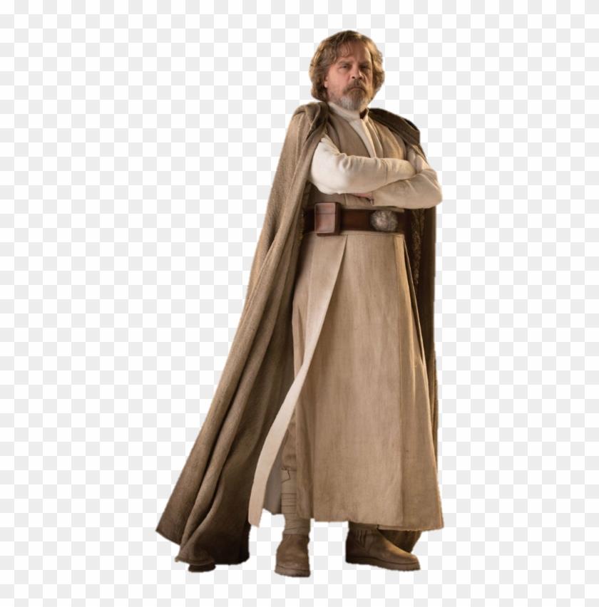 Star Wars Images Star Wars Luke Skywalker Luke Skywalker Last Jedi Costume Clipart 374483 Pikpng