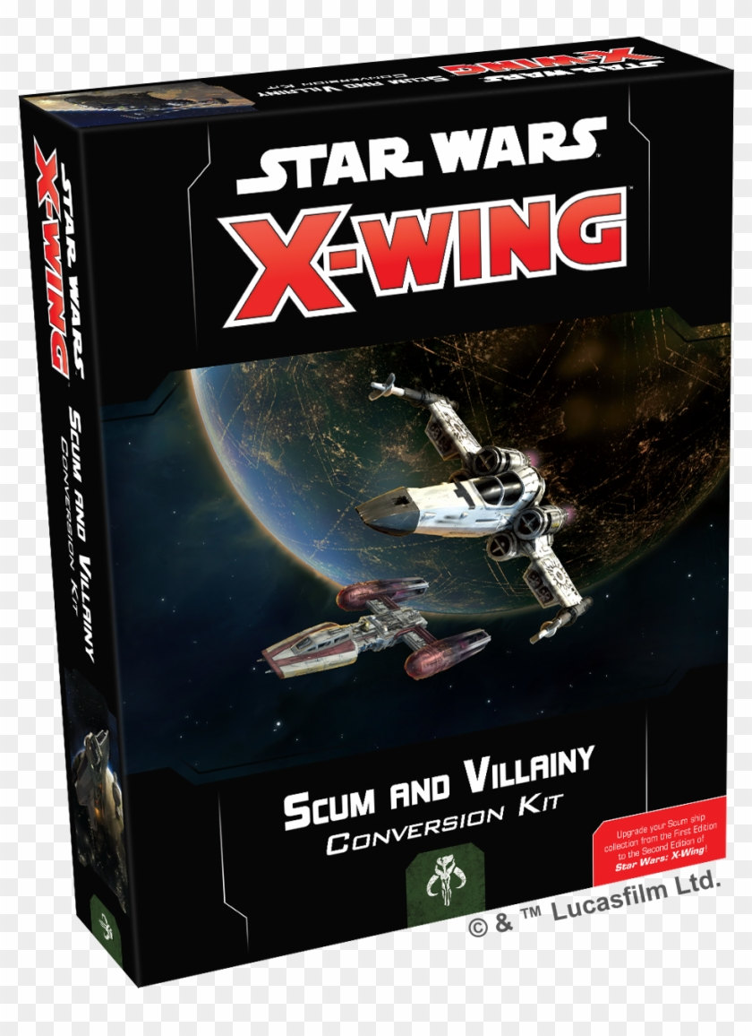 Picture Of Star Wars X-wing - X Wing Scum Conversion Kit Clipart #378206
