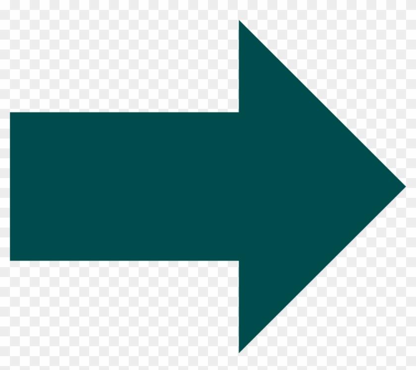 Down Right Arrow - Right Arrow Illustration Clipart #3706054
