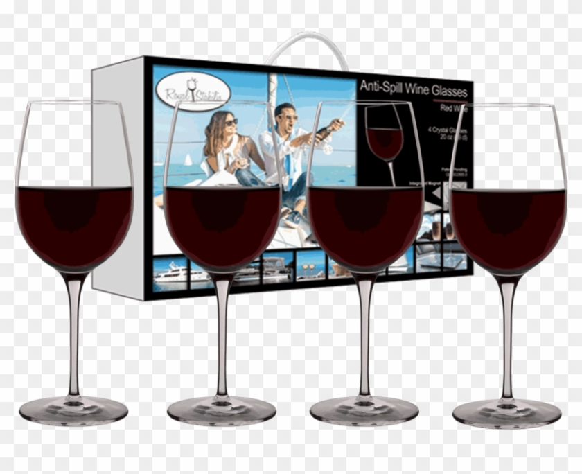 Copy Of Red Wine Glasses , Png Download - Wine Glass, Transparent Png #3706775