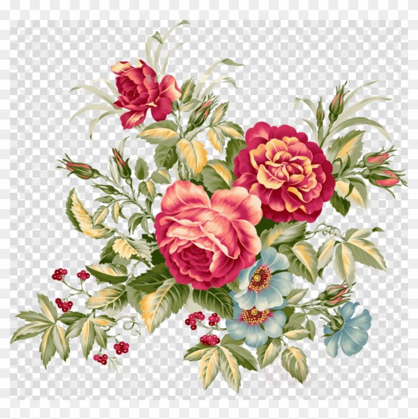 Vintage Flower Clipart Floral Design Flower Clip Art Flower Aesthetic Twitter Header Png Download 3715232 Pikpng