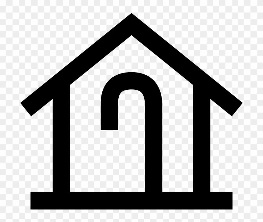 Japanese Map Symbol - Simbol Rumah Pada Peta Clipart #3720270
