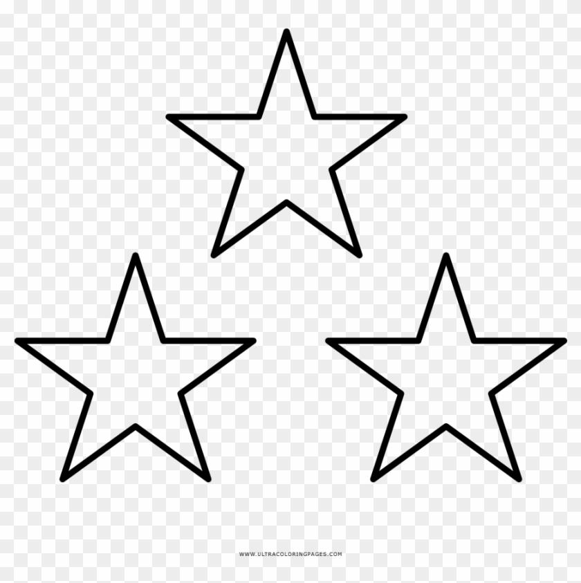Estrellas Para Recortar - American Flag Drawing Stars Clipart #3722581