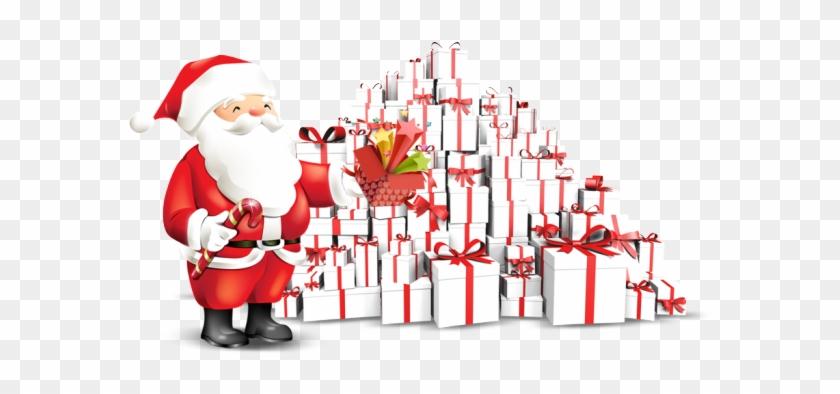 Father Christmas, Christmas Eve, Xmas, Banner Vector, - Casa De Santa Claus Png Clipart #3727253