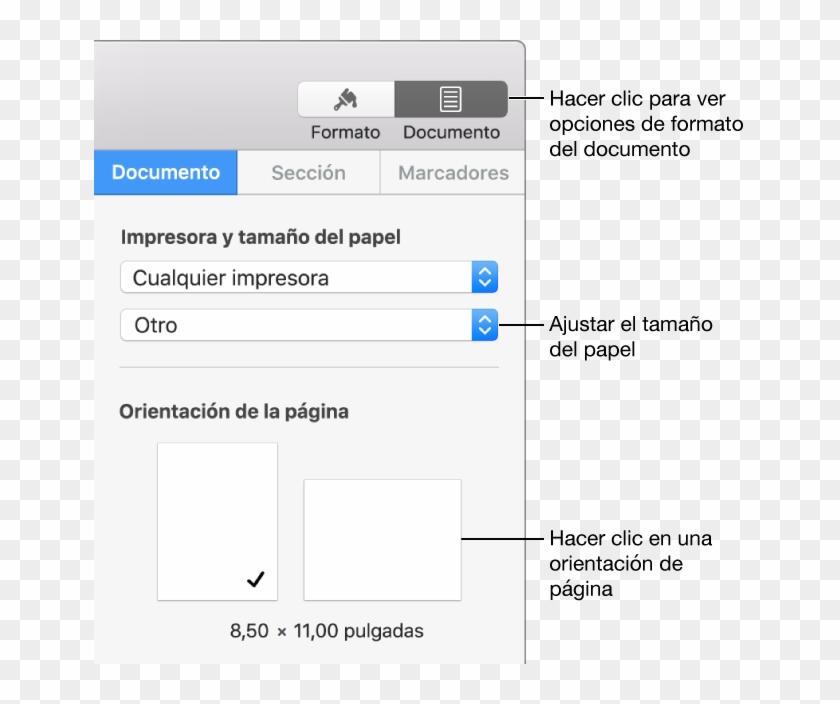 Pages Para Mac - Imprimir En Pages Mac Clipart #3727258