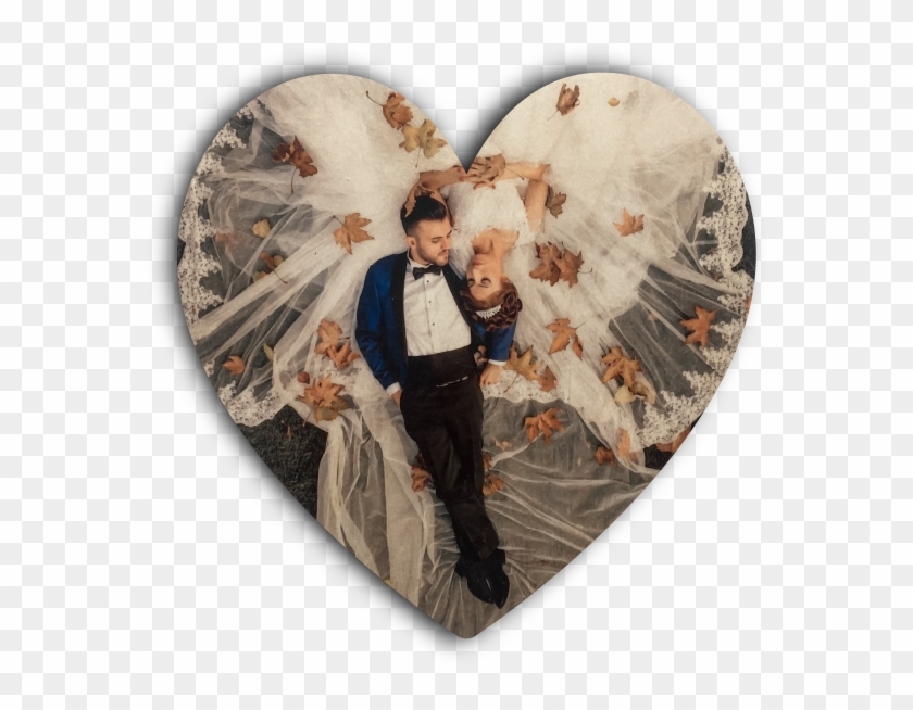 Heart Wood Print - Love Clipart #3730763