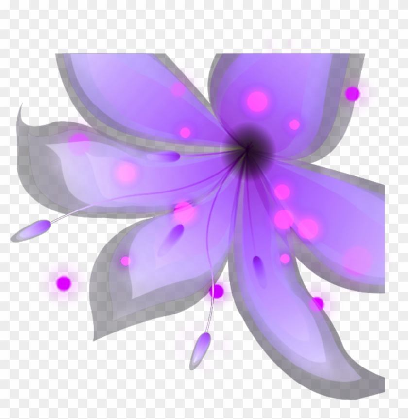 #ftestickers #flower #lights #glow #pinkandpurple - Floral ...