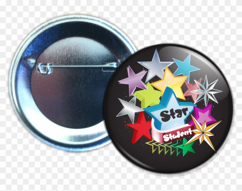 Stock Buttons - Student Council Pin Badge Clipart #3734981