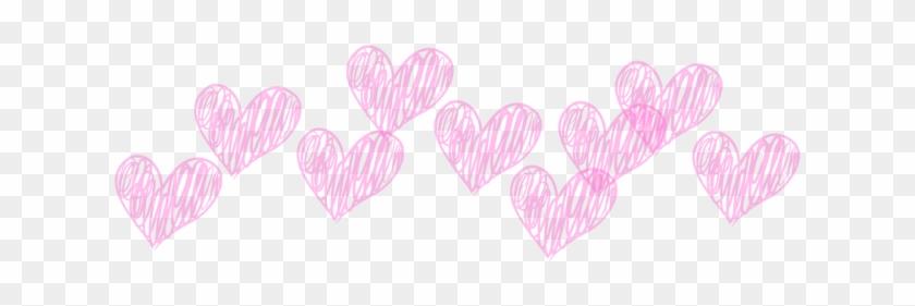 #lovely #girly #hearts #corazones #tiara #3d #whatsapp - Heart Clipart #3741958