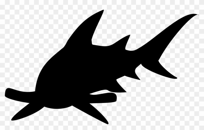 Vector Sharks Wave - Shark Clip Art - Png Download #3743901
