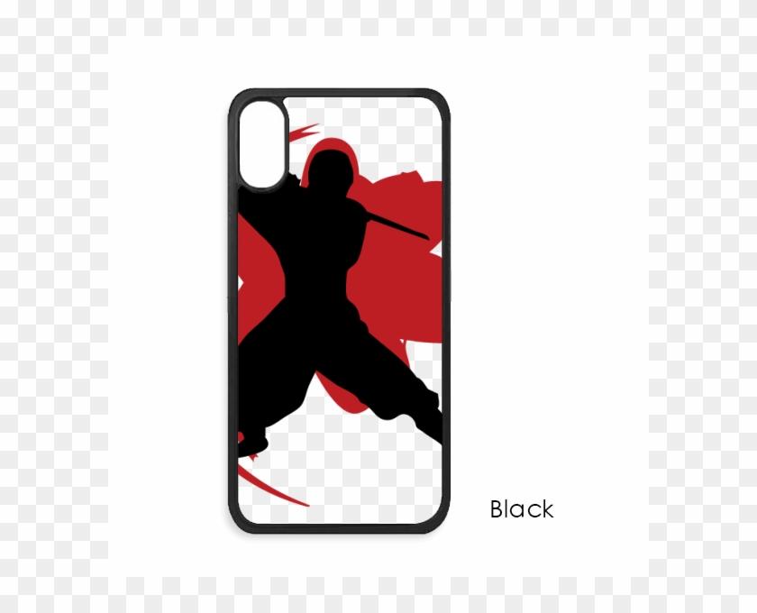 Bushido Samurai Katana Sakura Silhouette Japan For - Mobile Phone Case Clipart #3756833
