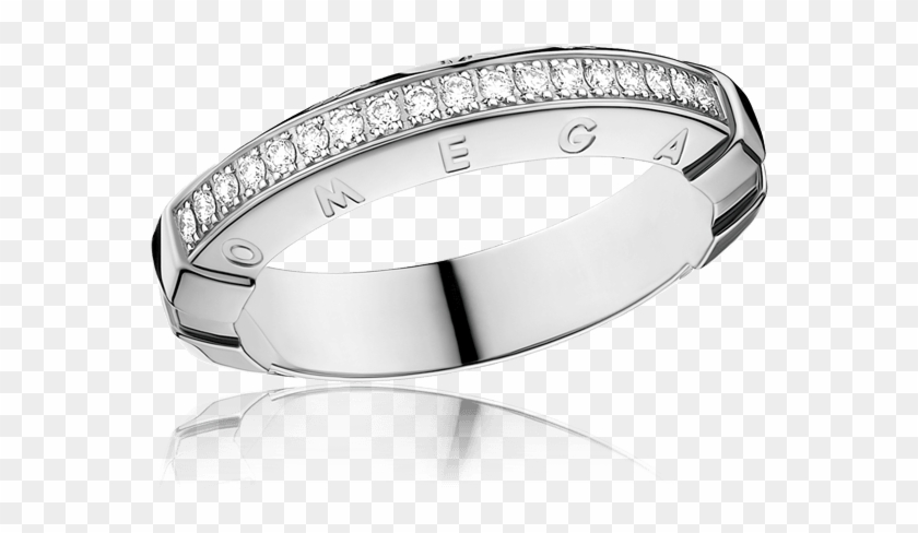 Ring 18k White Gold With Diamonds R47bca01004xx - Ring Clipart #3762334