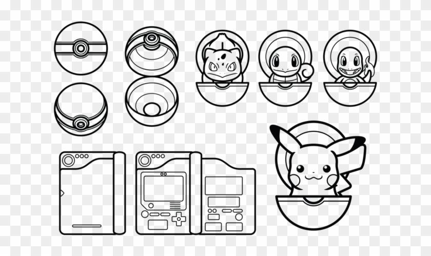 Pokemon Black And White Vector - Pokemon Image Black And White Clipart@pikpng.com