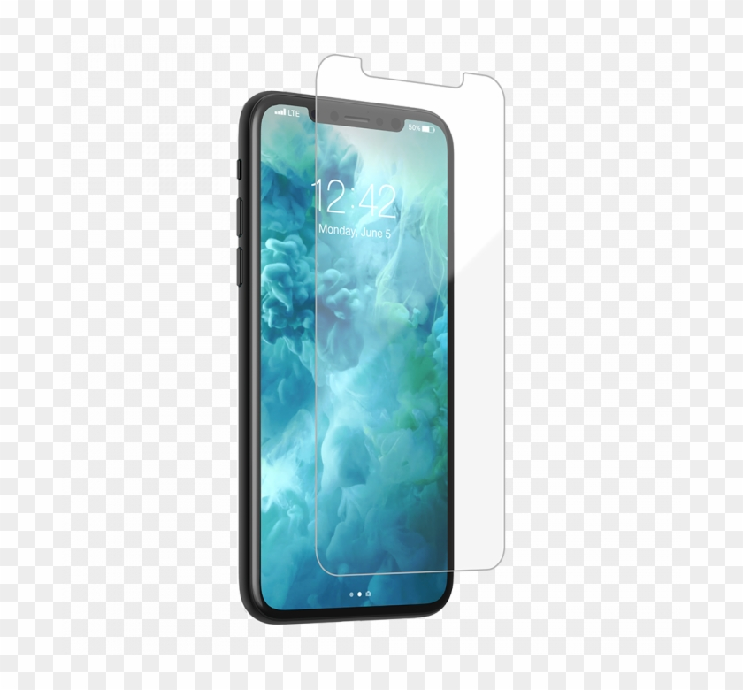 Clean Tempered Glass Iphone X - Glass Protector Iphone X Clipart #3775537