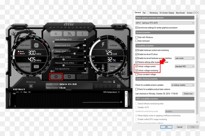 Before You Start The Process Of Oc Scanner, We Recommend - Msi Afterburner Oc Scanner Clipart #3780382