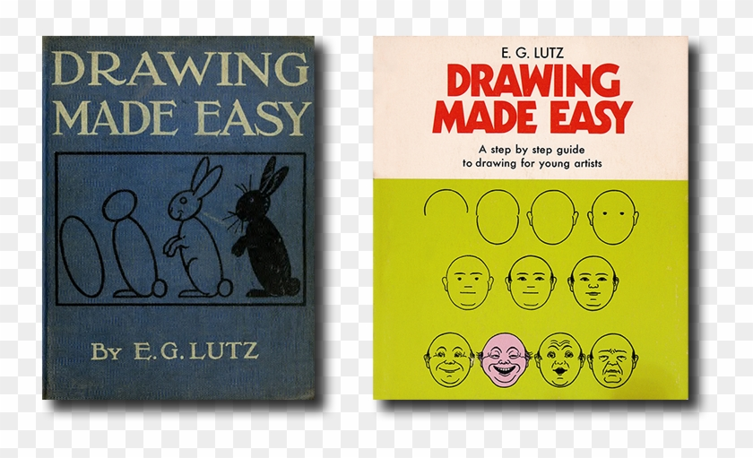Front Covers Of Two Editions Of Drawing Made Easy - Lutz Drawing Made Easy Clipart #3782279