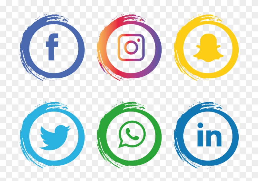Tendencias En Marketing Para - Logo Sosial Media Png Clipart #3789632