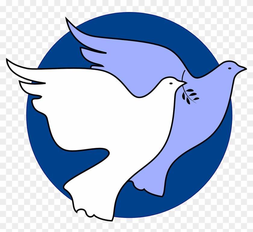 Dove Peace Unity - Abs Rowland School Varanasi Clipart #381234