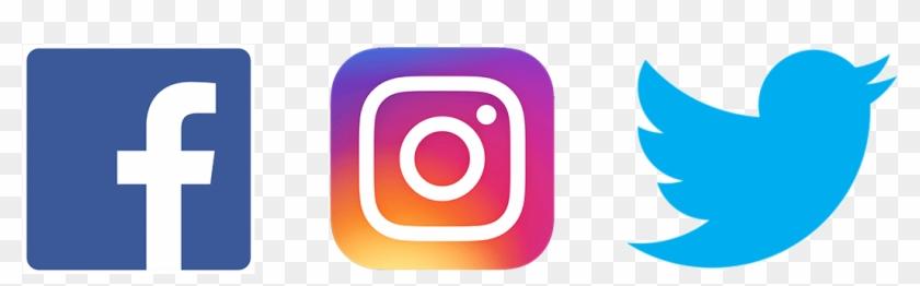 Facebook Twitter Instagram Logo Png - Logo Facebook Instagram Youtube Png Clipart #381520