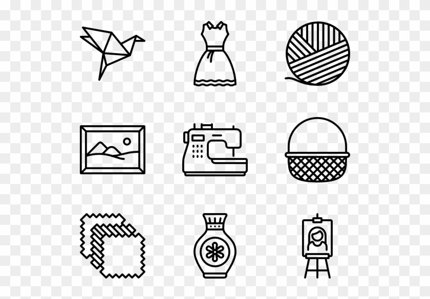 Hobbies Icons With White Background Royalty Free Cliparts, Vectors, And  Stock Illustration. Image 36354307.