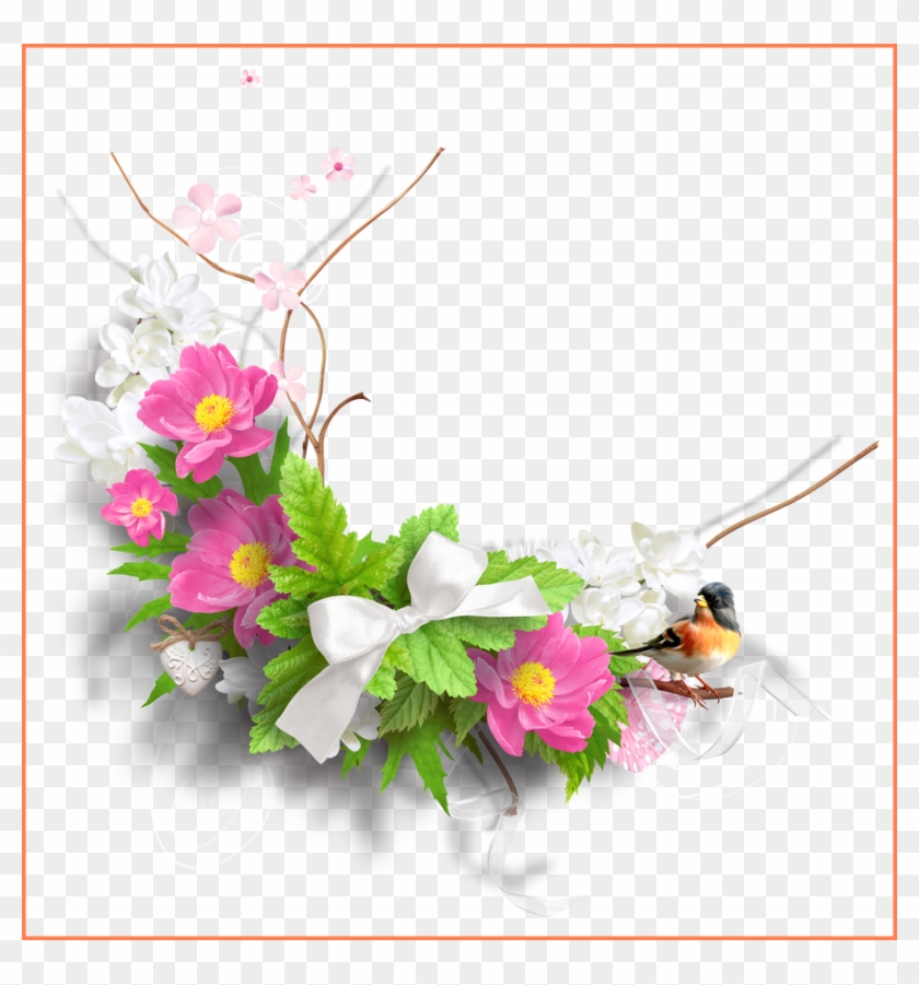Shocking Spring Png Picture Flowers By Pic - Spring Flowers Png Clipart #385923