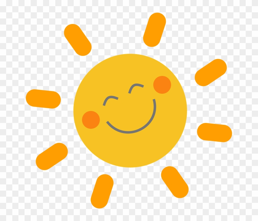 Happy & Ecstatic Sel Sun - Mostly Sunny Symbol Weather ...