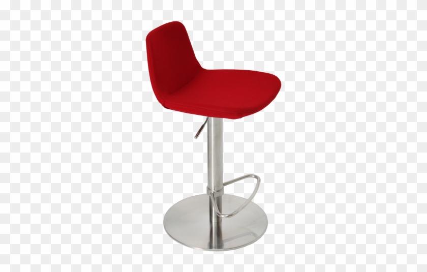 Surprising Pera Piston Stool Red Wool By Sohoconcept Furniture Chair Lamtechconsult Wood Chair Design Ideas Lamtechconsultcom